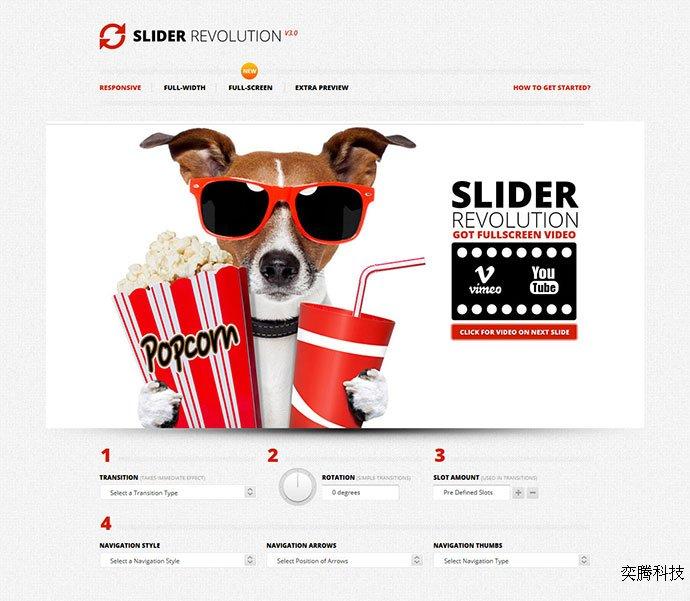 slider revolution -16